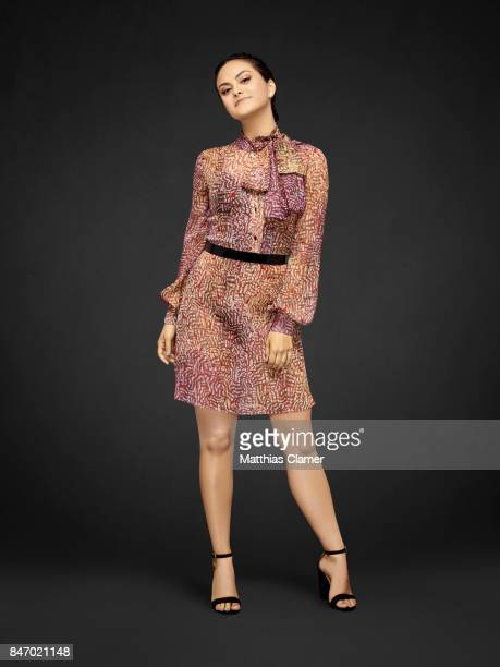 Actress Camila Mendes from 'Riverdale' is photographed for Entertainment Weekly Magazine on July 23 2016 at Comic Con in the Hard Rock Hotel in San...