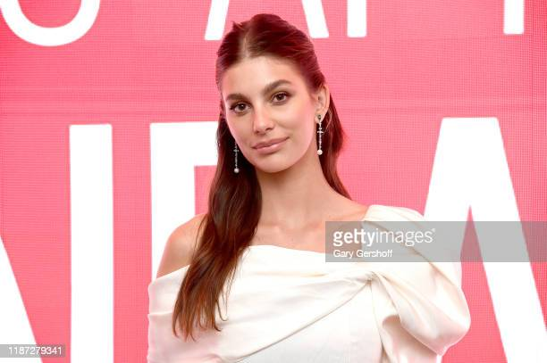 Actress Camila Morrone attends the SAGAFTRA Foundation Conversations Mickey And The Bear at The Robin Williams Center on November 12 2019 in New York...