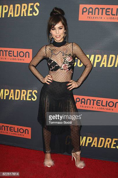 Actress Camila Sodi attends the premiere of Pantelion Films' 'Compadres' held at ArcLight Hollywood on April 19 2016 in Hollywood California