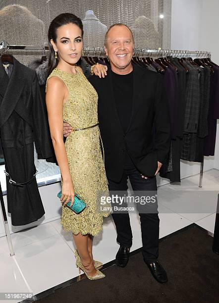 Actress Camilla Belle and designer Michael Kors attend Kors Collaborations Claiborne Swanson Frank on September 13 2012 in New York City