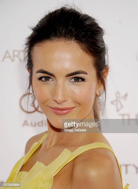 Actress Camilla Belle arrives at Art Of Elysium's 5th Annual Heaven Gala at Union Station on January 14, 2012 in Los Angeles, California.