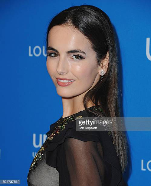 Actress Camilla Belle arrives at the 6th Biennial UNICEF Ball at the Beverly Wilshire Four Seasons Hotel on January 12 2016 in Beverly Hills...