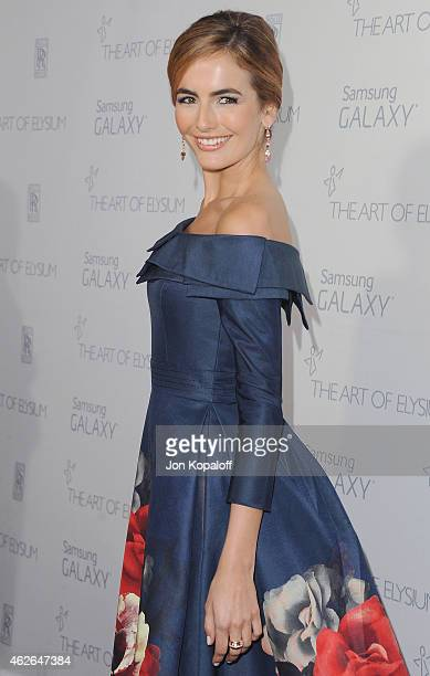 Actress Camilla Belle arrives at The Art Of Elysium 8th Annual Heaven Gala at Hangar 8 on January 10, 2015 in Santa Monica, California.