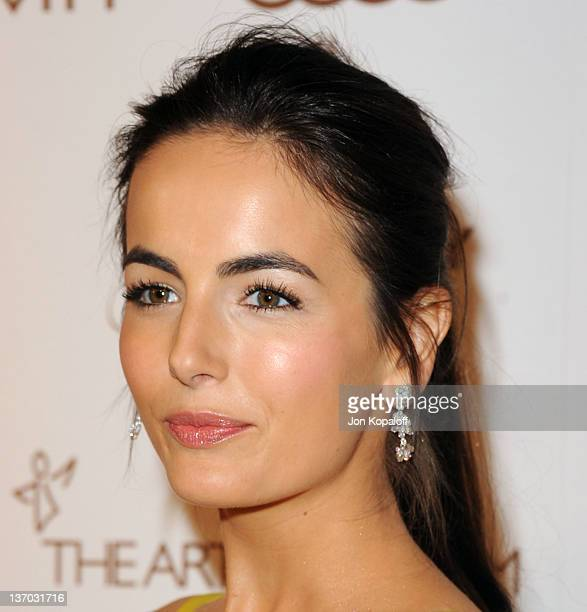 Actress Camilla Belle arrives at the Art of Elysium's 5th Annual Heaven Gala held at Union Station on January 14, 2012 in Los Angeles, California.