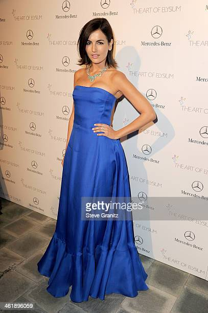 Actress Camilla Belle arrives at The Art of Elysium's 7th Annual HEAVEN Gala presented by MercedesBenz at Skirball Cultural Center on January 11 2014...