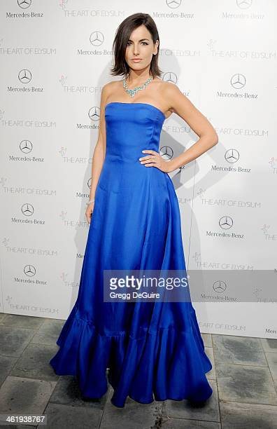 Actress Camilla Belle arrives at The Art of Elysium's 7th Annual HEAVEN Gala at the Guerin Pavilion at the Skirball Cultural Center on January 11,...