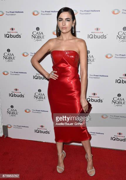 Actress Camilla Belle arrives at the inaugural Los Angeles gala dinner in support of The Fred Hollows Foundation at DREAM Hollywood on November 15...