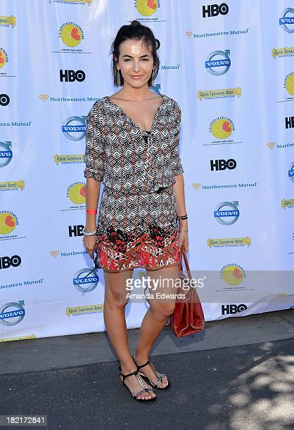 Actress Camilla Belle arrives at the LA Loves Alex's Lemonade Culinary Event Benefiting Alex's Lemonade Stand Foundation at Culver Studios on...