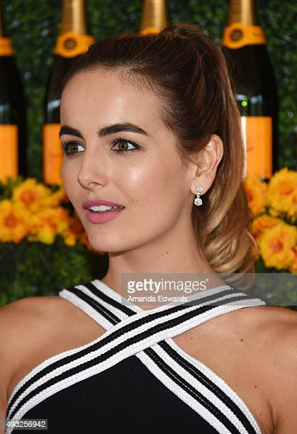 Actress Camilla Belle arrives at the SixthAnnual Veuve Clicquot Polo Classic Los Angeles at Will Rogers State Historic Park on October 17 2015 in...