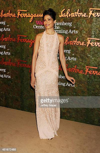 Actress Camilla Belle arrives at the Wallis Annenberg Center For The Performing Arts Inaugural Gala at Wallis Annenberg Center for the Performing...