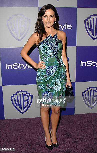 Actress Camilla Belle arrives at the Warner Brothers/InStyle Golden Globes After Party at The Beverly Hilton Hotel on January 17 2010 in Beverly...