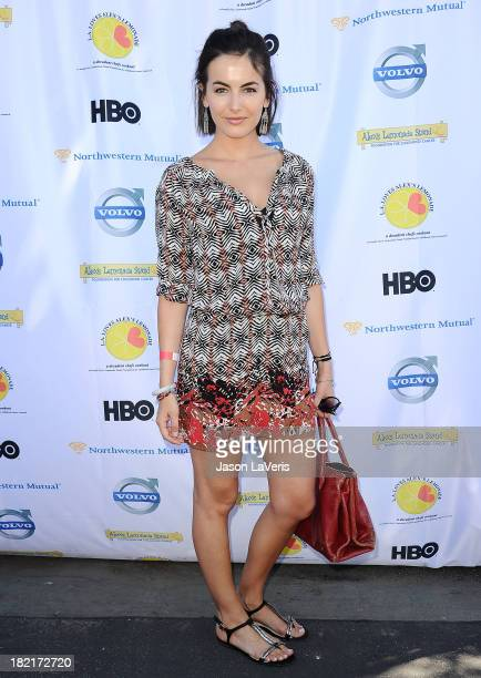 Actress Camilla Belle attend the 4th annual LA Loves Alex's Lemonade event at Culver Studios on September 28 2013 in Culver City California