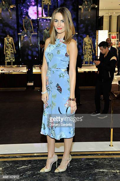 Actress Camilla Belle attends a cocktail party hosted by Gucci's Frida Giannini and Patrizio Di Marco to celebrate the new Beverly Hills store on...