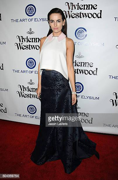 Actress Camilla Belle attends Art of Elysium's 9th annual Heaven Gala at 3LABS on January 9 2016 in Culver City California