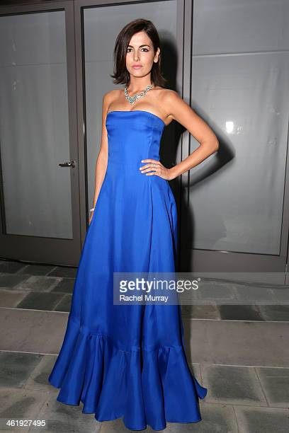 Actress Camilla Belle attends PerrierJouet Celebration of The Art of Elysium's 7th Annual HEAVEN Gala presented By MercedesBenz at Skirball Cultural...