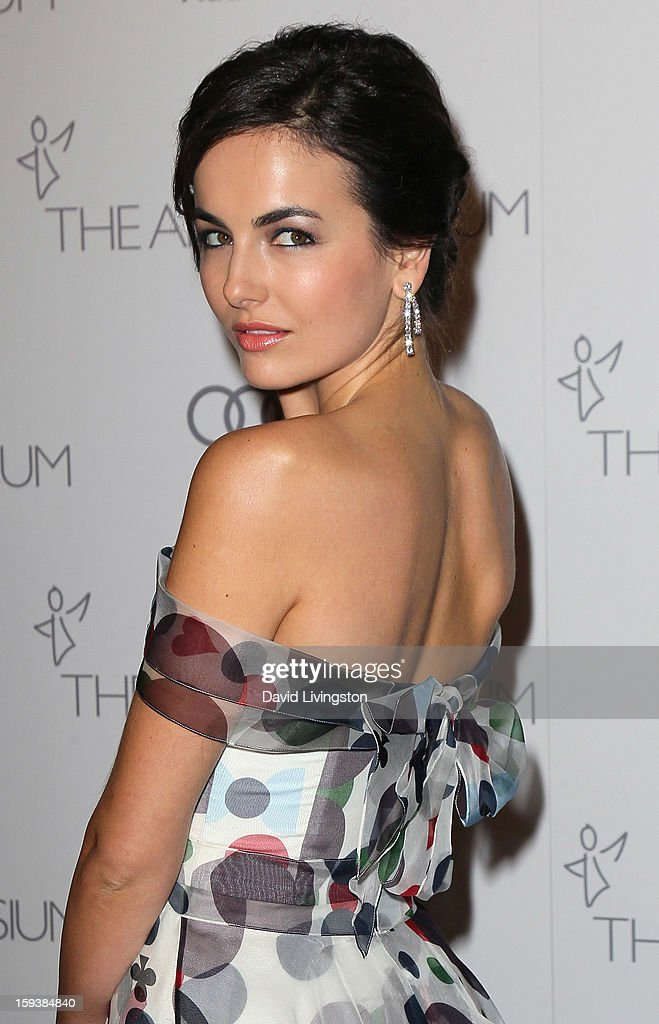 Actress Camilla Belle attends the Art of Elysium's 6th Annual Black-tie Gala 'Heaven' at 2nd Street Tunnel on January 12, 2013 in Los Angeles, California.