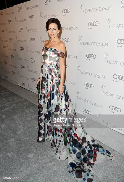 Actress Camilla Belle attends The Art of Elysium's 6th Annual HEAVEN Gala presented by Audi at 2nd Street Tunnel on January 12 2013 in Los Angeles...