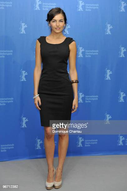 Actress Camilla Belle attends the 'Father Of Invention' Photocall during day five of the 60th Berlin International Film Festival at the Grand Hyatt...