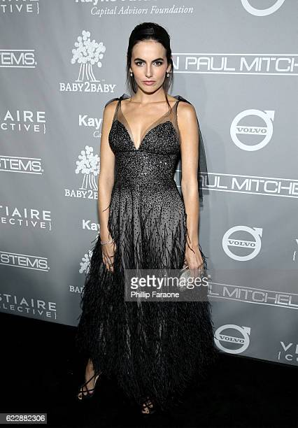 Actress Camilla Belle attends the Fifth Annual Baby2Baby Gala Presented By John Paul Mitchell Systems at 3LABS on November 12 2016 in Culver City...
