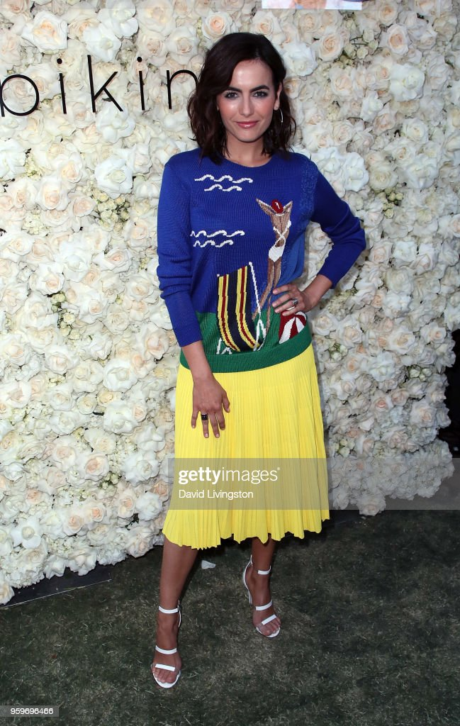 Actress Camilla Belle attends the Gigi C Bikinis Pop-Up Launch Event at The Park at The Grove on May 17, 2018 in Los Angeles, California.