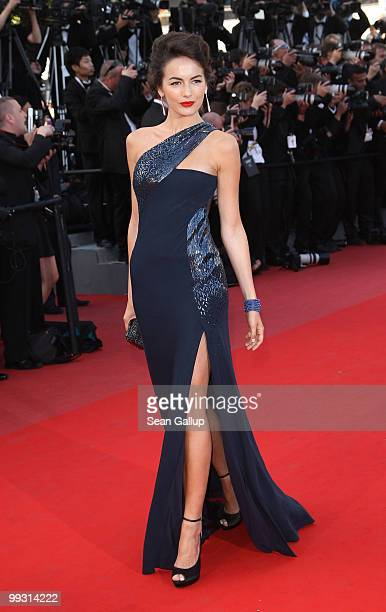 Actress Camilla Belle attends the 'IL Gattopardo' Premiere at the Palais des Festivals during the 63rd Annual Cannes Film Festival on May 14 2010 in...