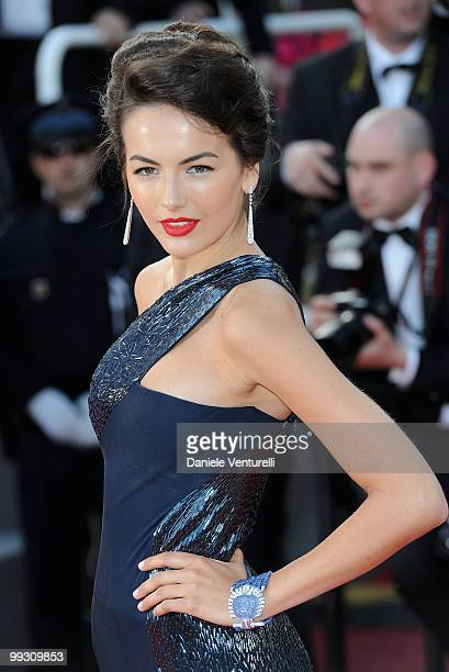 Actress Camilla Belle attends the 'Il Gattopardo' premiere held at the Palais des Festivals during the 63rd Annual International Cannes Film Festival...