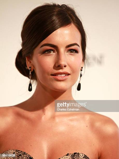 Actress Camilla Belle attends the Metropolitan Opera gala permiere of 'Armida' at The Metropolitan Opera House on April 12 2010 in New York City