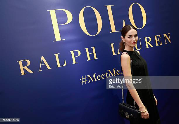Actress Camilla Belle attends the Polo Ralph Lauren Fall 2016 during New York Fashion Week on February 12 2016 in New York City