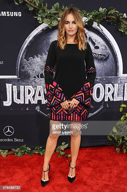Actress Camilla Belle attends the premiere of 'Jurassic World' at Dolby Theatre on June 9 2015 in Hollywood California
