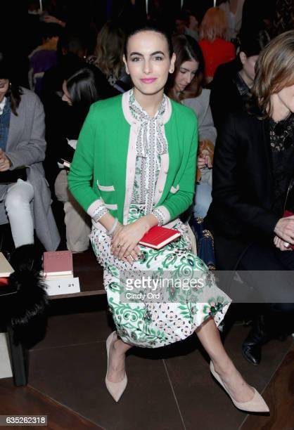 Actress Camilla Belle attends the Tory Burch FW17 Show during New York Fashion Week at the Whitney Museum of American Art on February 14 2017 in New...