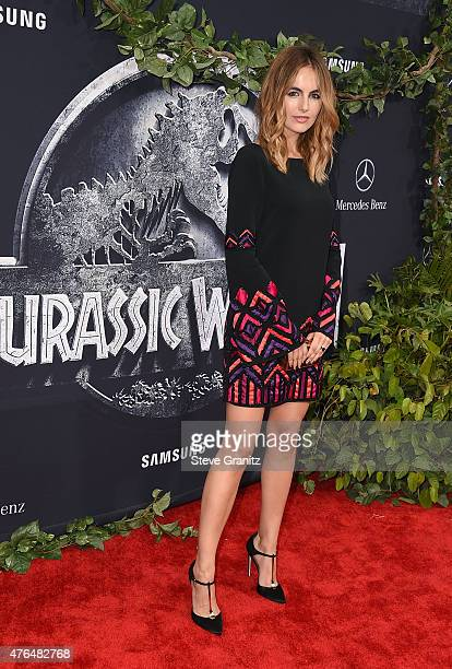 Actress Camilla Belle attends the Universal Pictures' 'Jurassic World' premiere at Dolby Theatre on June 9 2015 in Hollywood California