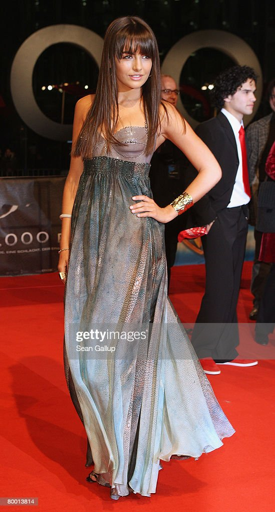 Actress Camilla Belle attends the world premiere of '10,000 B.C.' at the Sony Center CineStar on February 26, 2008 in Berlin, Germany.