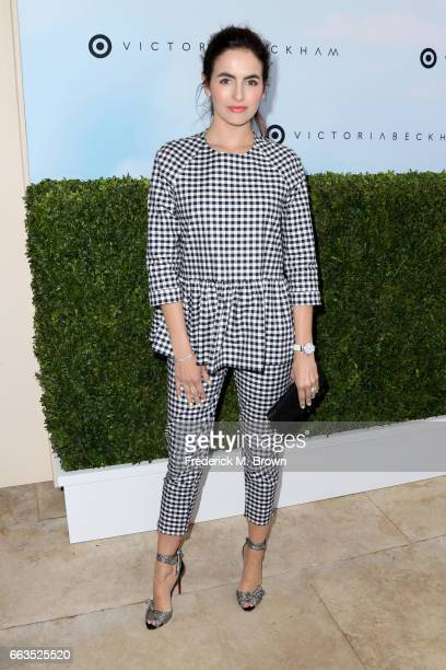 Actress Camilla Belle attends Victoria Beckham for Target Launch Event on April 1 2017 in Los Angeles California