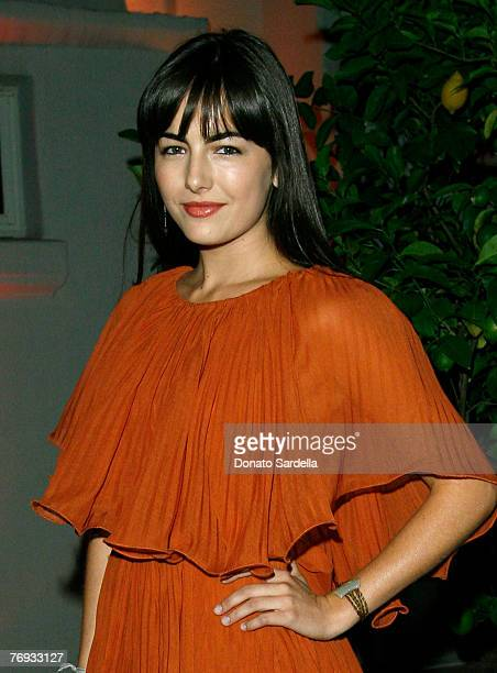 Actress Camilla Belle inside the Teen Vogue Young Hollywood Party at Vibiana on September 20 2007 in Los Angeles California