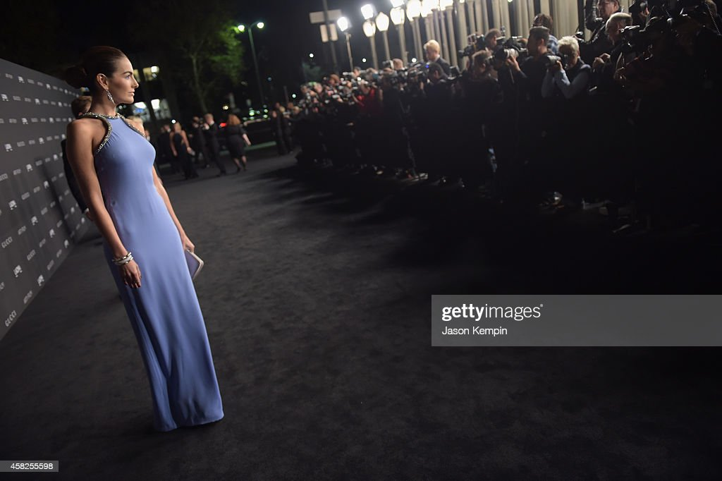2014 LACMA Art + Film Gala Honoring Barbara Kruger And Quentin Tarantino Presented By Gucci - Red Carpet : News Photo