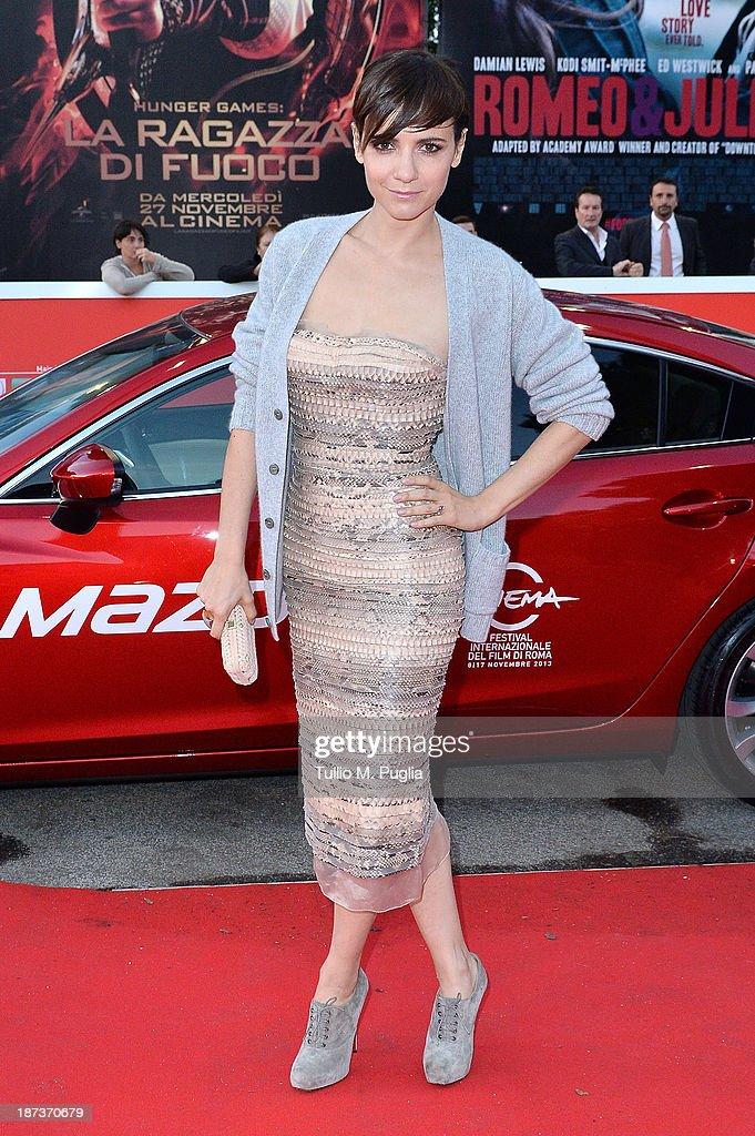 Actress Camilla Filippi attends 'Il Mondo Fino In Fondo' Premiere during The 8th Rome Film Festival at the Auditorium Parco Della Musica on November 8, 2013 in Rome, Italy.