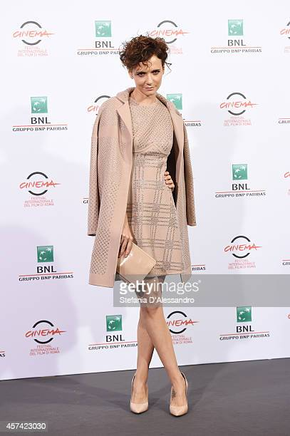 Actress Camilla Filippi attends the 'Buoni A Nulla' Photocall during the 9th Rome Film Festival on October 18 2014 in Rome Italy