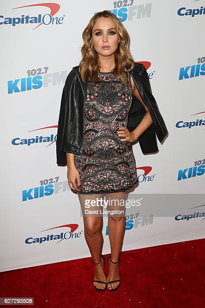 Actress Camilla Luddington arrives at 1027 KIIS FM's Jingle Ball 2016 at the Staples Center on December 2 2016 in Los Angeles California