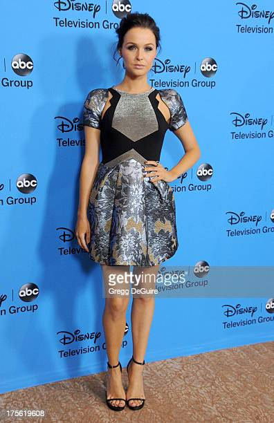 Actress Camilla Luddington arrives at the 2013 Disney/ABC Television Critics Association's summer press tour party at The Beverly Hilton Hotel on...
