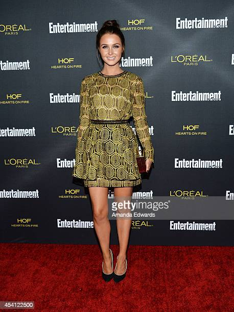 Actress Camilla Luddington arrives at the 2014 Entertainment Weekly PreEmmy Party at Fig Olive Melrose Place on August 23 2014 in West Hollywood...