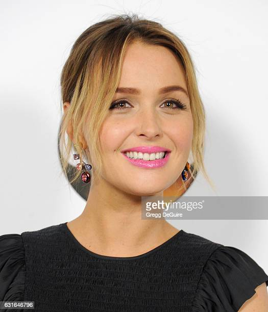 Actress Camilla Luddington arrives at the 2017 Winter TCA Tour Disney/ABC at the Langham Hotel on January 10 2017 in Pasadena California