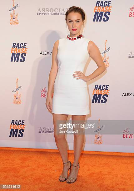 Actress Camilla Luddington arrives at the 23rd Annual Race To Erase MS Gala at The Beverly Hilton Hotel on April 15 2016 in Beverly Hills California