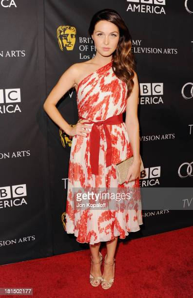 Actress Camilla Luddington arrives at the BAFTA Los Angeles TV Tea 2013 on September 21 2013 in Beverly Hills California
