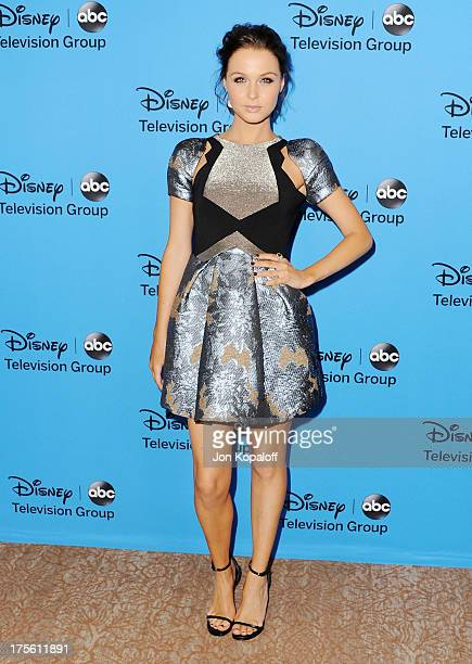 Actress Camilla Luddington arrives at the Disney/ABC Party 2013 Television Critics Association's Summer Press Tour at The Beverly Hilton Hotel on...