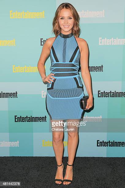 Actress Camilla Luddington arrives at the Entertainment Weekly celebration at Float at Hard Rock Hotel San Diego on July 11 2015 in San Diego...