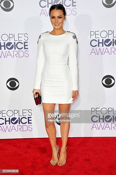 Actress Camilla Luddington arrives at the People's Choice Awards 2016 at Microsoft Theater on January 6 2016 in Los Angeles California