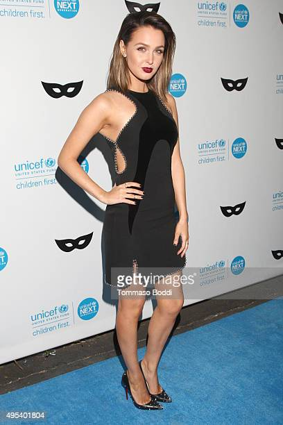 Actress Camilla Luddington at the UNICEF Next Generation Third Annual UNICEF Black White Masquerade Ball benefiting UNICEF's lifesaving programs...