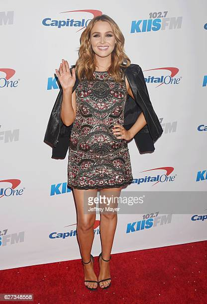 Actress Camilla Luddington attends 1027 KIIS FM's Jingle Ball 2016 at Staples Center on December 2 2016 in Los Angeles California