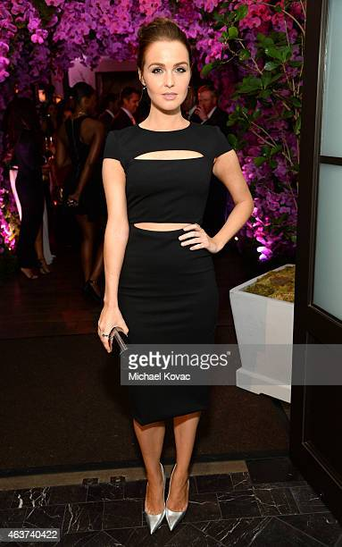 Actress Camilla Luddington attends BVLGARI and Save The Children STOP THINK GIVE PreOscar Event at Spago on February 17 2015 in Beverly Hills...