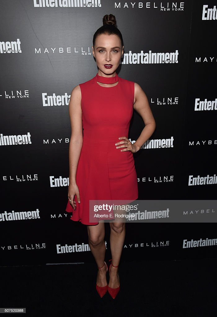 Entertainment Weekly Celebration Honoring The Screen Actors Guild Nominees Presented By Maybelline At Chateau Marmont In Los Angeles - Arrivals : News Photo